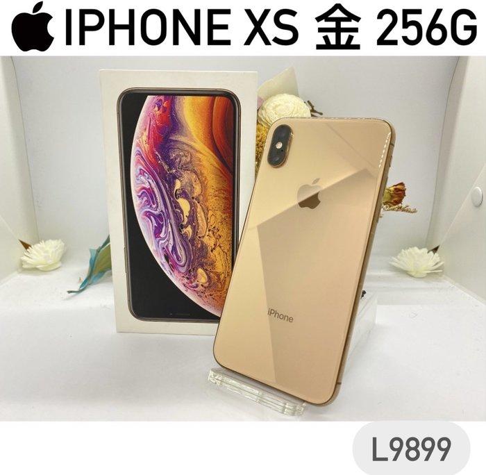 APPLE IPHONE XS 金 256G 二手機 可中古機貼換新機 福利機 L9899【承靜數位-六合】非I12