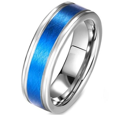 coi jewelry tungsten carbide wedding band ring 戒指. Available with all sizes.