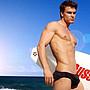 APPLE JUICY【ZS-194】MAN AWARE 超舒適簡約衝浪三角泳褲 L XL 號