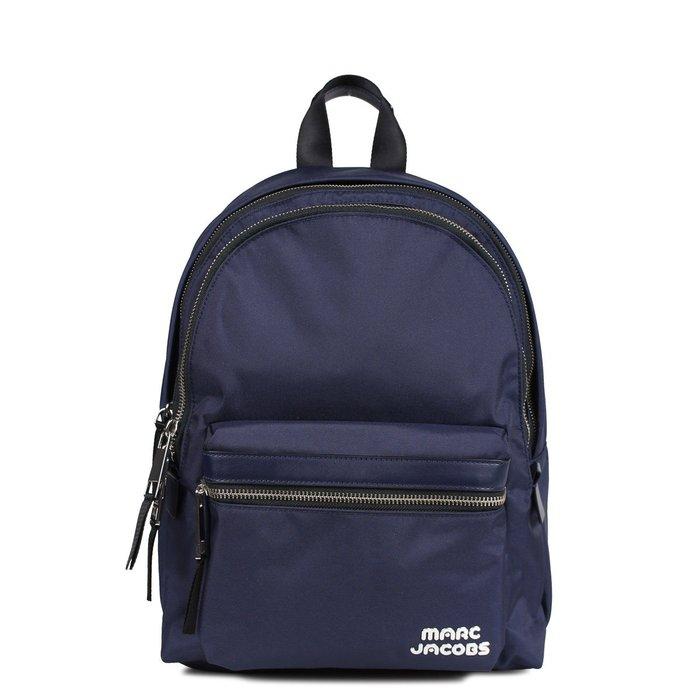 Coco 小舖 MARC JACOBS Trek Pack Large Backpack 深藍色大款尼龍後背包