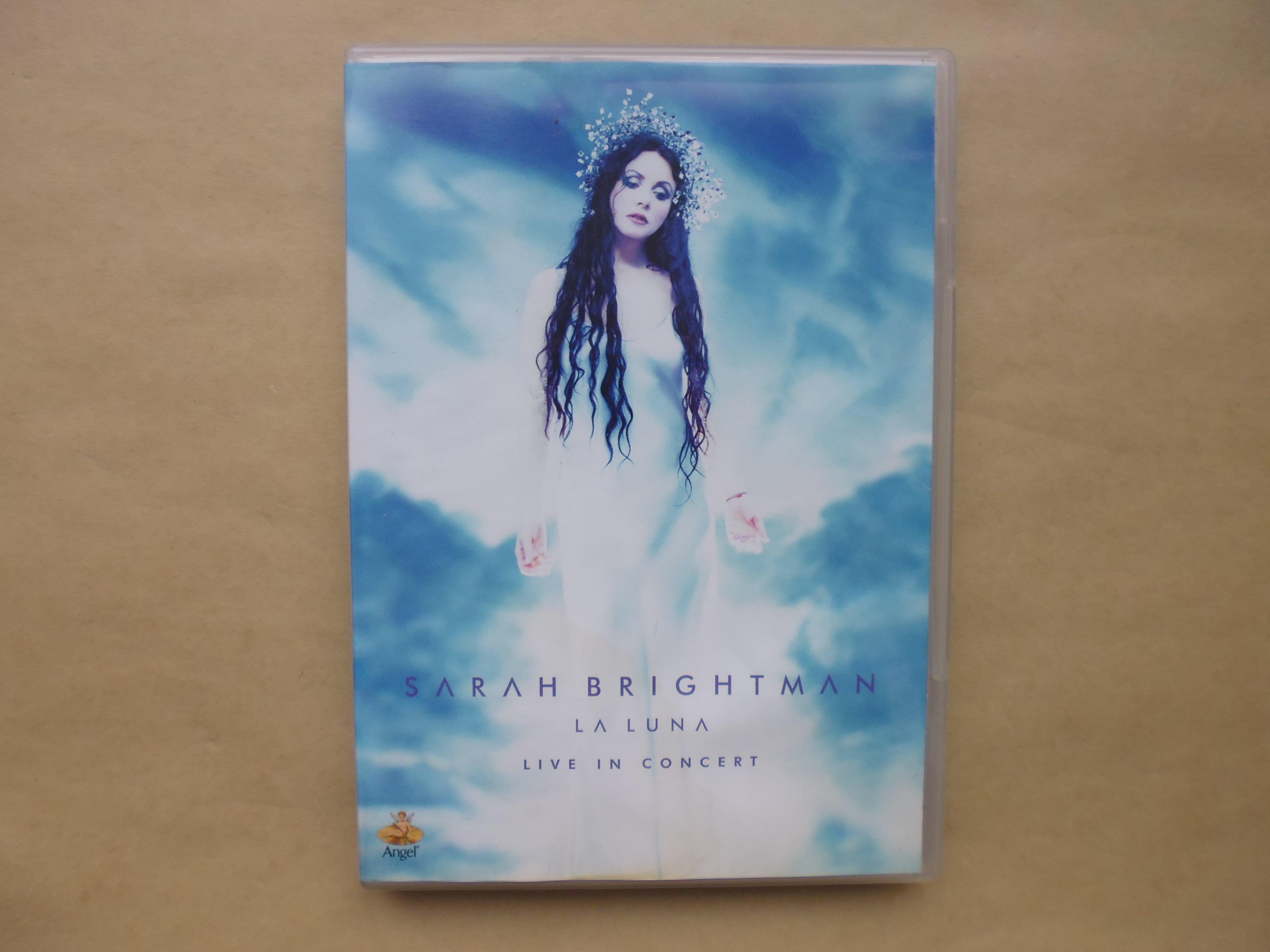 明星錄*2000年莎拉布萊曼.月光女神現場演唱會.二手DVD.共26首=附側標(k377)