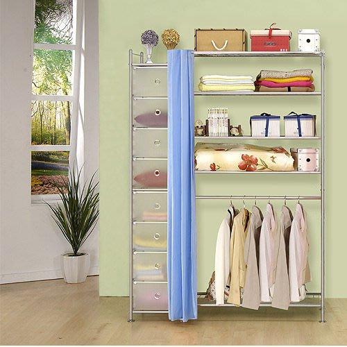 【中華批發網DIY家具】D-61-14-W5+PP型90公分衣櫥櫃-(前罩)不織布