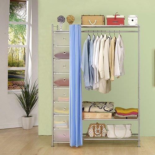【中華批發網DIY家具】D-61-12-W3+PP型90公分衣櫥櫃-(前罩)不織布