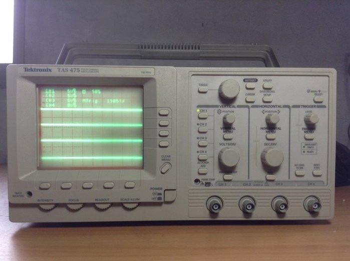 Tektronix 太克 TAS 475 示波器 歡迎議價 示02
