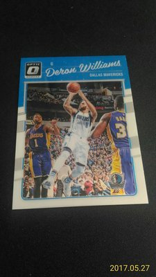 2016-17 DONRUSS OPTIC~Deron Williams 金屬普卡 # 78