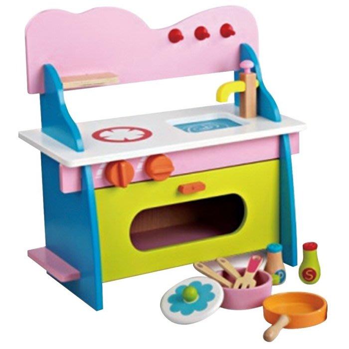 CHING-CHING親親-WOOD TOYS木製玩具組-繽紛廚房-A(MSN15027)