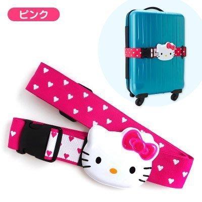 ☆Joan☆日本帶回♥日本製凱蒂貓HELLOKITTY行李箱束帶識別吊牌-桃紅