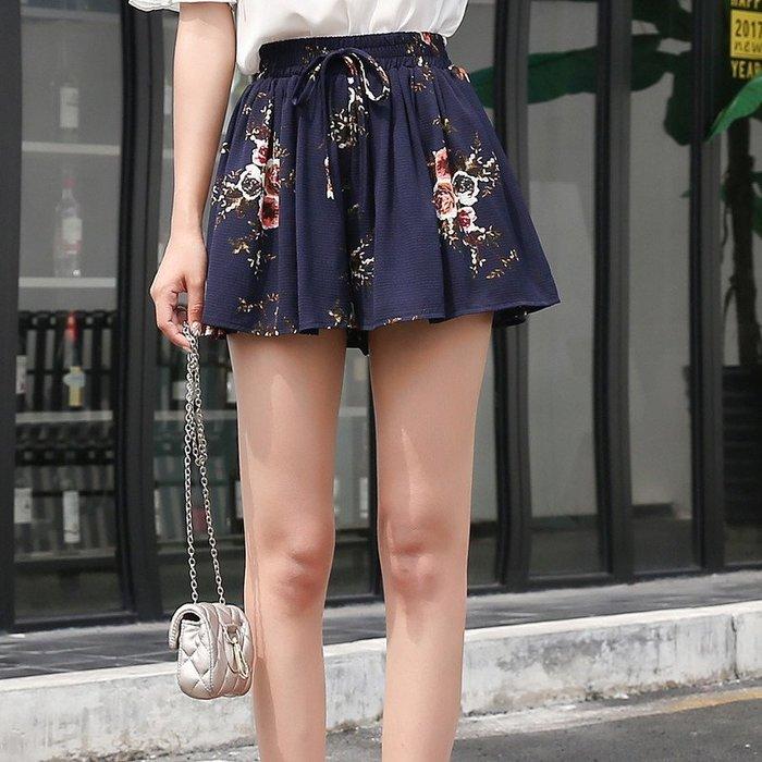 【現貨R】2017夏裝褲大碼女褲寬腿褲裙