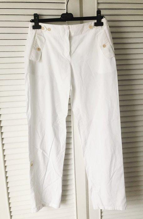 MaxMara 白色寬鬆休閒褲