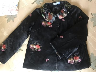~櫻花雨~GIORGIO SEDRA 絲綢 綢緞 silk 中國風 緹花 真絲外套