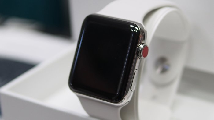 不用帶電話出門跑步了 可游泳 心電圖  apple Watch s3 42mm lte 不鏽鋼 錶殼 eSim卡