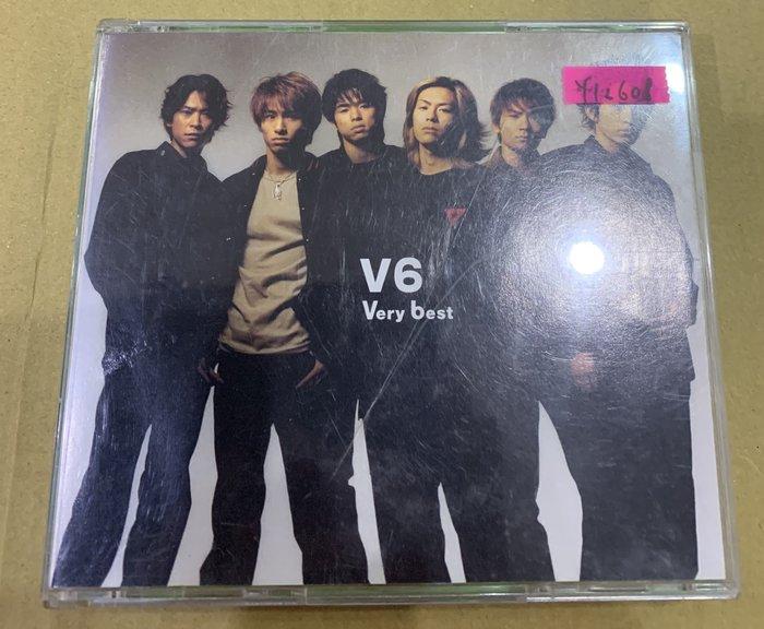 *還有唱片行*V6 / VERY BEST 2CD 二手 Y12608