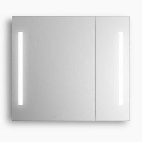 御舍精品衛浴 Kohler Verdera 新維樂鏡櫃 866mm  (帶LED燈) K-78282T-NA
