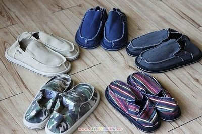 SANUK同款 外單懶人鞋 休閒布鞋 透氣鞋  39-45#  兩雙免運