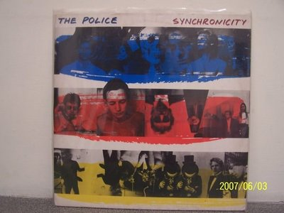 【流行LP】1410.The police:Synchronicity,Zenyatte Mondatta,Ghost in the machine,3LP