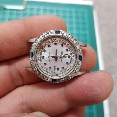 <鑲鑽太陽圈>料件 ☆拆零件都划算☆ 另有 飛行錶 水鬼錶 軍錶 機械錶 三眼錶  潛水錶 SEKIO  CASIO CITIZEN CK TELUX G4