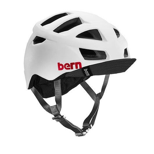 (Bern) 美國成人自行車安全帽 bern helmet  ALLSTON 白 (售價3500元)