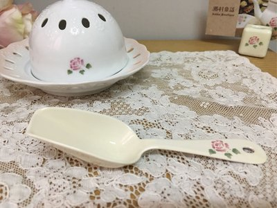 Many 玫瑰 琺瑯 小勺 現貨 日本製