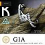 GIA F VS2 3EX H&A 0.30ct 設計款婚戒 鑽戒...