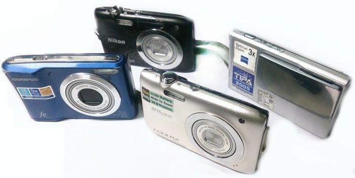 ☆手機寶藏點☆ Sony DSC-T7 數位相機 零件機 故障 報帳繳回 Che C44