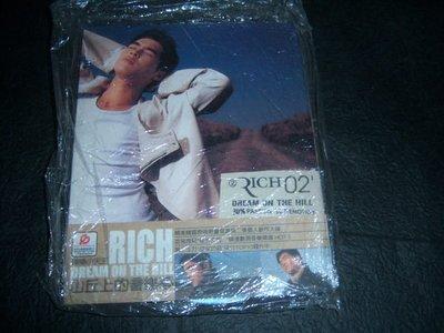 CD-- 韓樂小天王RICH/DREAM ON THE HILL山丘上的音樂夢/含側標.資料卡和DM及中文詞