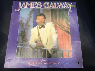 開心唱片 (JAMES GALWAY / FLUTE) 二手 黑膠唱片 D230 (右下打洞)