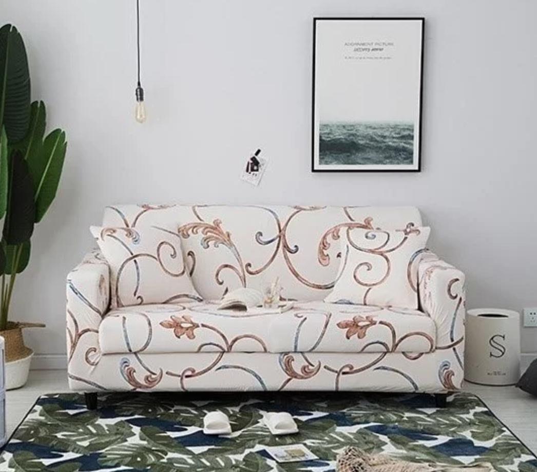 沙發套【RS Home】彈性沙發套沙發墊沙發罩防水沙發罩[45*45抱枕套加購價]
