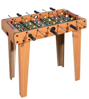 (高腳)足球桌 大號6桿18人 兒童桌上足球機 益智足球桌 仿真木製足球台 桌遊 親子 雙人 玩具節日禮物