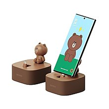 LINE FRIENDS Smart Charging Stand GP-TDU019HOCAW智能充電座(Brown) For Galaxy Note 10等