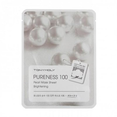 Tonymoly Pureness 100 珍珠面膜