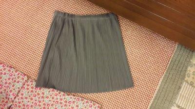 [ COCO馬 ] 三宅一生pleats please 灰色基本款短裙  ~~  62折
