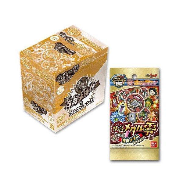 東京都-妖怪手錶徽章卡包補充包-古典1(內有12包卡包補充包)(1包有2枚徽章)(藍色手錶專用) 現貨