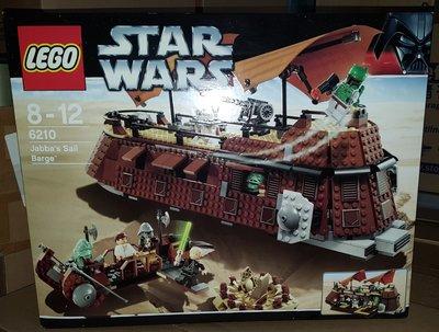 MISB LEGO STAR WARS - Jabba's Sail Barge (6210)