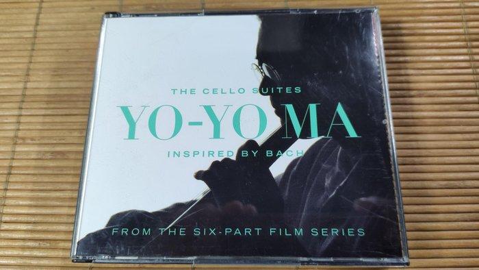 好音悅 Yo-Yo Ma 馬友友 BACH  馬友友的巴哈靈感 6首 無伴奏大提琴組曲 2CD SONY