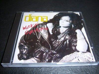 CD- DIANA/WORKIN' OVERTIME/UK版