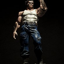 Customised Wolverine Logan resin from Marvel x-men superheroes one of a kind