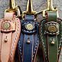 日本 天神 Tenjin Works 櫪木多脂革 高端鑰匙扣 3色現貨