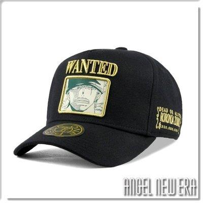 【ANGEL NEW ERA】ONE PIECE 航海王 懸賞單 索隆 經典黑 老帽 卡車帽 東映授權 限量帽 贈帽撐