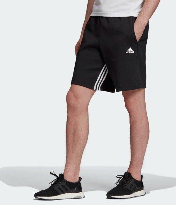 【豬豬老闆】ADIDAS 3-STRIPES 休閒 運動 慢跑 短褲 男款 黑 EB5284 灰 EB5283