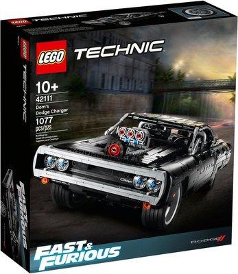 樂高 LEGO 42111 唐老大的道奇 Charger