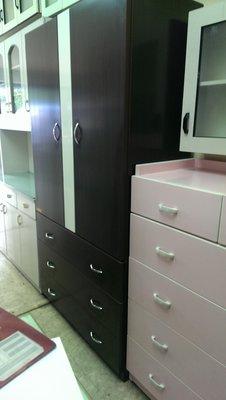 亞毅辦公家具 南亞塑鋼五斗櫃 塑鋼胡桃色衣櫃衣櫥 南亞塑鋼粉紅色鞋櫃 粉紅色六斗櫃 浴室吊櫃