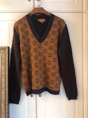 《巴黎拜金女》#gucci-dapper dan系列# 100%羊毛衫