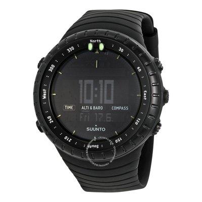 |換日線|SUUNTO CORE All Black SS014279010 多功能戶外手錶