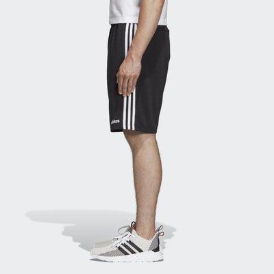 ADIDAS 黑白 黑色 三條線 運動 休閒 訓練 棉質 短褲 愛迪達 DU7830 請先詢問庫存