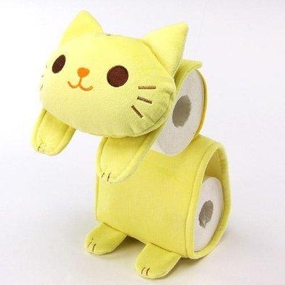 ◎LY愛雅日貨◎ 日本代購 黃貓捲筒衛生紙 面紙套 特價 現貨