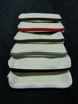 MIT帆布袋王-帆布袋王-6安棉 帆布\胚布筆袋