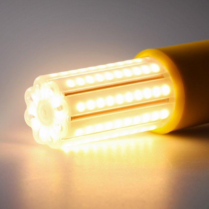超亮led燈泡 玉米燈e27 e14家用螺口三色變光節能燈20W
