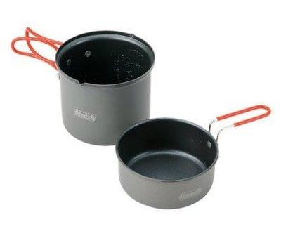 【山野賣客】美國 Coleman Packway單鍋組 鋁合金鍋具 不沾鍋 套鍋 平底鍋 煎鍋 CM-2957