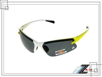 兒童專用【Z-POLS專業級推薦款】100%美國寶麗來偏光運動型(烤漆雙漸白黃)太陽眼鏡