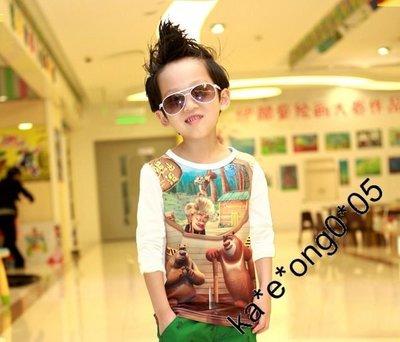 Buymore K4644  童裝 男童 女童 寶寶 長袖 T-SHIRT, T恤, 上衣 (只餘2件)